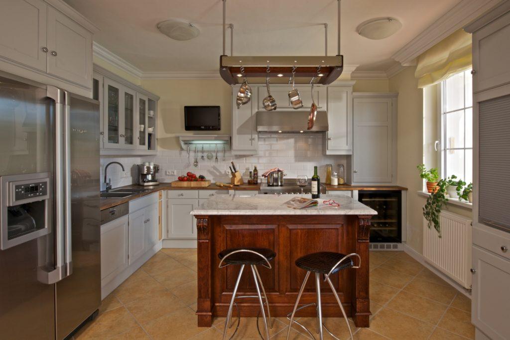 rustikální stylové kuchyně