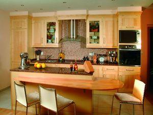 Javorová dřevěná kuchyně