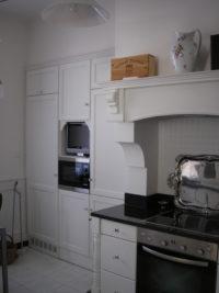 minimalistická rustikální kuchyň