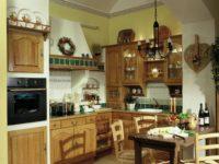 Provensálská rustikální kuchyně barevná