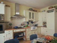 anglická dubová kuchyně