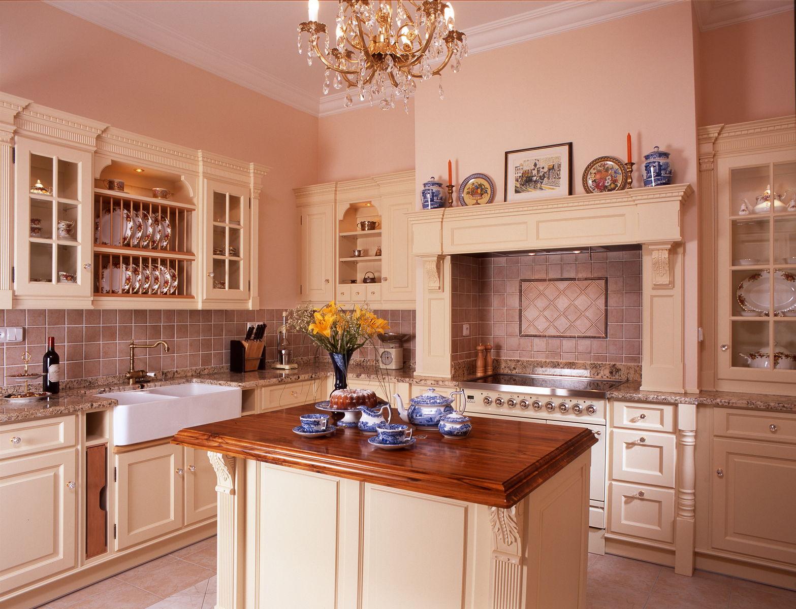 luxusní viktoriánská kuchyně