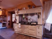 Anglická rustikální kuchyně