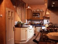 Rustikální kuchyňský kout