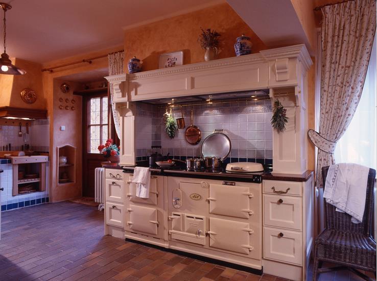 Provensálská rustikální kuchyně