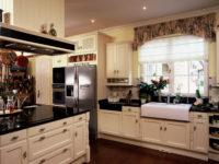 Moderní rustikální kuchyně světlá